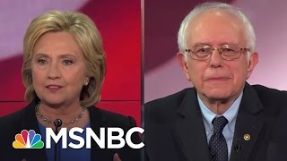 Download Hillary Clinton and Bernie Sanders Spar On Health Care | MSNBC Video