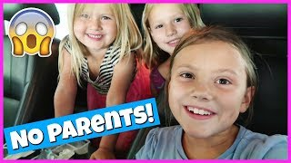 Download DRIVING AND BACK TO SCHOOL SHOPPING WITH NO PARENTS! Video
