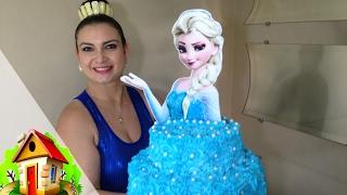 Download Bolo da Frozen - (Elsa) - -Culinaria-em-Casa Video