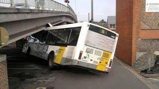 Download CRAZY BUS FAIL COMPILATION, STUPID DRIVING FAILS 2017 Video