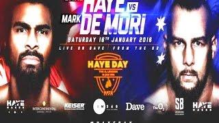 Download David Haye vs Mark De Mori Live Stream Video