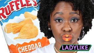 Download Women Create Snack-Inspired Makeup Looks • Ladylike Video