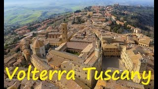 Download Volterra beautiful Tuscany city 4K Video