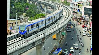 Download Chennai metro rail from Airport to Nehru park Video