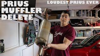 Download No Muffler Toyota Prius Loudest Ever Video
