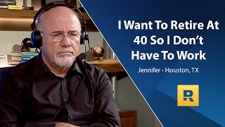 Download I Want To Retire At 40 So I Don't Have To Work Video