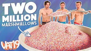 Download Gigantic Bowl of Just Cereal Marshmallows Video