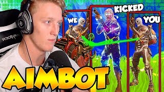 Download TFUE Reacts to ″Getting Kicked from FaZe Clan for Aimbot″ Video