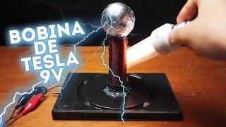 Download Como fazer uma BOBINA DE TESLA 9V – Fácil de fazer Video