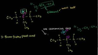 Download E1 ELIMINATION REACTION, ORGANIC CHEMISTRY Video