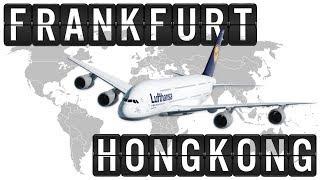 Download A380 Cockpit Flight Timelapse from FRANKFURT [FRA] to HONGKONG [HKG] 9200km Video