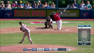 Download Josh Donaldson Hits 3 Home Runs - Hat Trick - Curtain Call Video