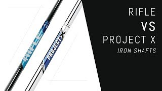 Download Rifle VS Project X Iron Shafts Video