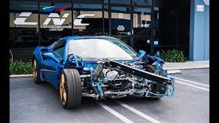 Download REBUILDING A WRECKED FERRARI 488 FROM COPART PART 2 Video