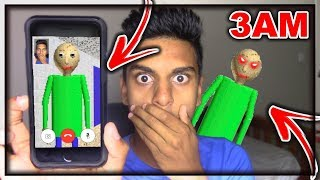 Download DO NOT FACETIME BALDI'S BASIC WHEN SPINNING A FIDGET SPINNER AT 3AM!! BALDI CAME TO MY HOUSE AT 3AM! Video