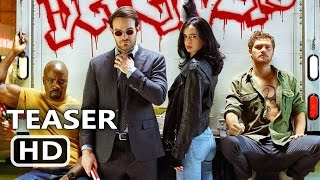 Download THE DEFENDERS Official Trailer TEASER (2017) Marvel, Netflix TV Show HD Video