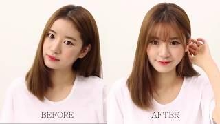 Download Hướng dẫn cách tự tỉa tóc mái thưa kiểu Hàn Quốc Video