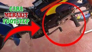 Download Cara Membuat Footstep Motor Balap - Cara Merakit Footstep Motor Video