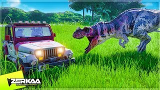 Download A DINOSAUR ESCAPED IT'S ENCLOSURE! (Jurassic World Evolution #3) Video