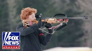Download Winter Olympics: Anatomy of a .22 Biathlon rifle Video