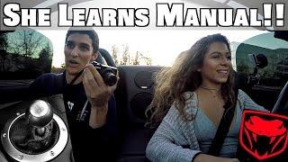 Download Teaching High School Girl To Drive Stick Shift Manual Dodge Viper! Video