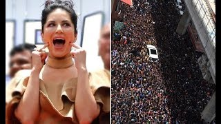 Download Neither Trump nor Obama, this MASSIVE crowd came for Sunny Leone! Video