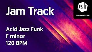 Download Acid Jazz Funk Jam Track in F minor 120 BPM Video