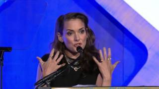 Download Winona Ryder introducing 2016 IFP Gotham Tributee Ethan Hawke Video