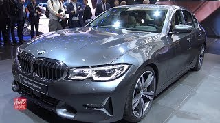 Download 2019 BMW 3th series 330i Berline - Exterior And Interior Walkaround - 2018 Paris Motor Show Video