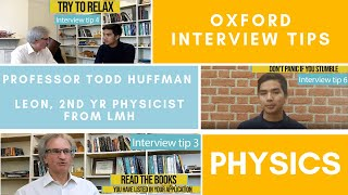 Download Oxford Physics Interview - a tutor's top 10 tips Video