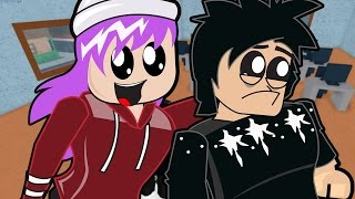 Download Roblox / Emo Chad and Audrey go to Roblox High School / Gamer Chad Plays Video