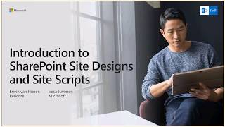 Download PnP Webcast - Introduction to SharePoint Site Designs and Site Scripts Video