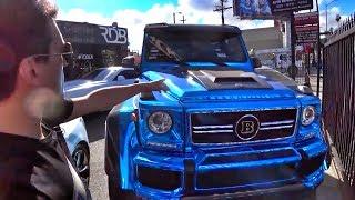 Download РАЗРЕЗАЛИ ГЕЛИК за 20М и сделали кабрик!) RDBLA – ателье в Лос-Анджелесе! Mercedes-Benz G 500 4x4 Video