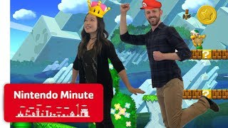 Download New Super Mario Bros. U Deluxe Co-op Gameplay - Nintendo Minute Video