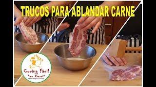 Download MIS TRUCOS PARA ABLANDAR CARNE QUE NUNCA FALLAN Video