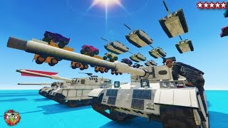 Download GTA 5 FIRST EVER TANK WALL RIDE - GTA 5 Online BEST EVER SAND BOX!! - GTA 5 FUNNY MOMENTS & FAILS Video