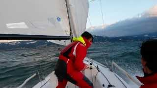 Download J 70 - Genacker Action - Speed 20 Knots - Lake of Constance - Bodensee - Sailing Video