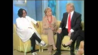 Download Whoopi Goldberg stops short of calling Donald Trump a racist Video