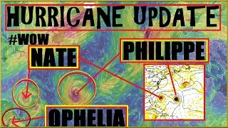 Download HURRICANE Update! #NATE #OPHELIA #PHILIPPE ALL Shown In Next 10 Days!? Video
