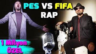 Download PES VS FIFA RAP (ALEMİN KRALI) | 1 MİLYON ABONE ÖZEL KLİP Video