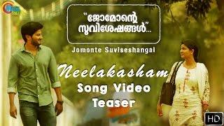 Download Jomonte Suviseshangal   Neelakasham Song Video Teaser   Dulquer Salmaan,Aishwarya Rajesh   Official Video