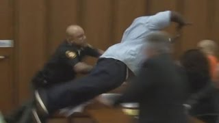 Download Father Attacks Man Convicted Of Killing His Daughter Video