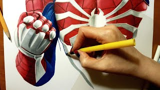 Download Speed Drawing: PS4 Spider-Man | Jasmina Susak #Drawing #SpiderMan Video