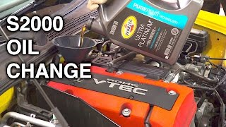 Download How To Change Your Engine Oil - Honda S2000 Video