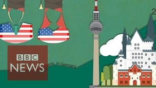 Download US students head to Germany for free degrees - BBC News Video