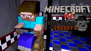 Download MINECRAFT VS. FIVE NIGHTS AT FREDDYS ANIMATION (REACTION) Video
