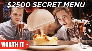 Download $7 Secret Menu Vs. $2,500 Secret Menu Video