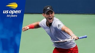 Download Dominic Thiem Earns a Trip to His First US Open QFs With Win over Kevin Anderson Video
