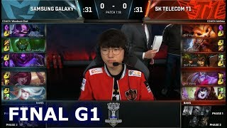 Download SSG vs SKT | Game 1 Grand Finals S7 LoL Worlds 2017 | Samsung Galaxy vs SK Telecom T1 G1 Video