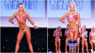 Download T Walk and quarter turns for Fitness Model Champion Kasia Dziurska Video